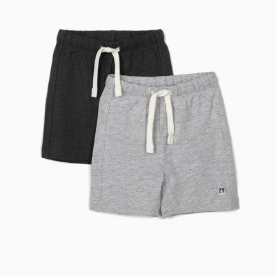2 Shorts Gris Marengo/Gris