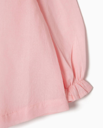 Blusa Rosa Claro Bebe