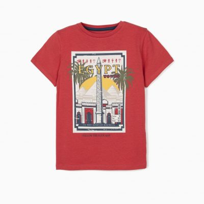 Camiseta Egipto Roja