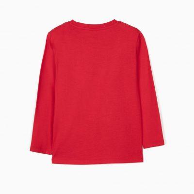 Camiseta Espacio Roja