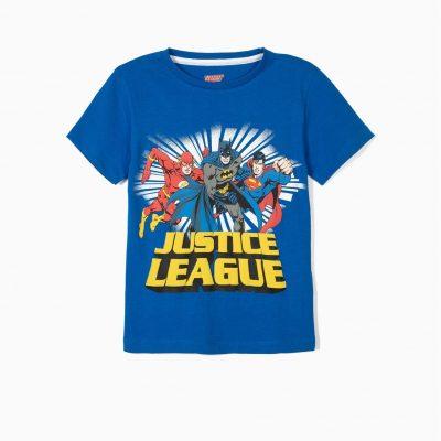 """Camiseta """"JUSTICE LEAGUE"""" Azul"""