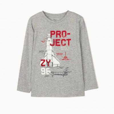 Camiseta Project Gris