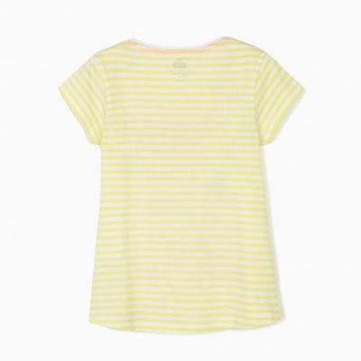 Camiseta Rayas Minnie Verde