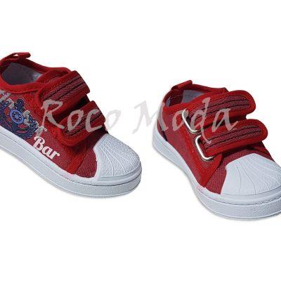 Lona Ancla Velcros Rojo