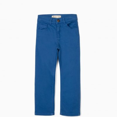 Pantalón Sarga Azul