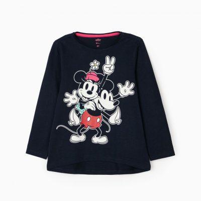 Camiseta Minnie & Mickey Marino
