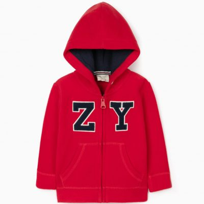 Sudadera Polar «ZY 96» Roja Mini